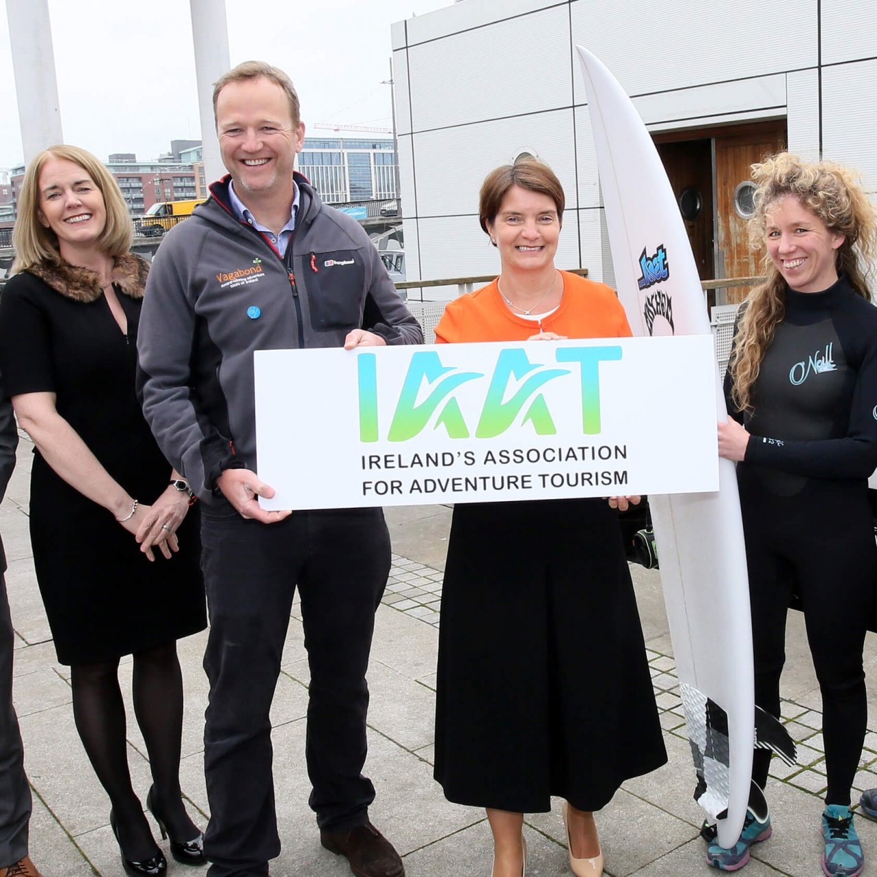 Rob Rankin helps launch Ireland's Association for Adventure Travel (IAAT)