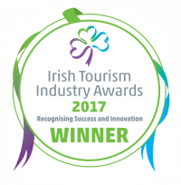 Irish Tourism Industry Award 2017 winnerbadge
