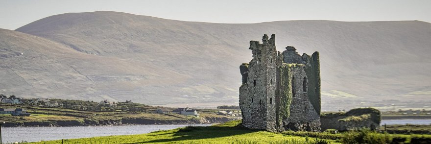 Ballycarbery castle in Ireland