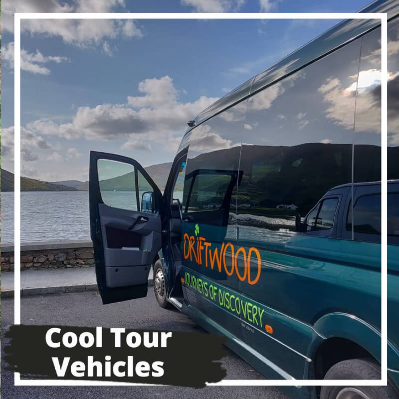 Cool Tour Vehicles with Driftwood bus in Ireland