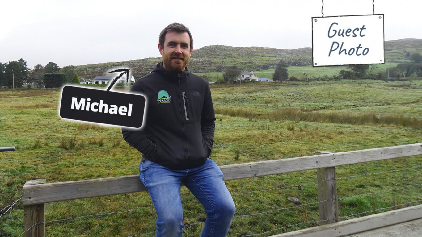 Tour Guide Michael in Ireland