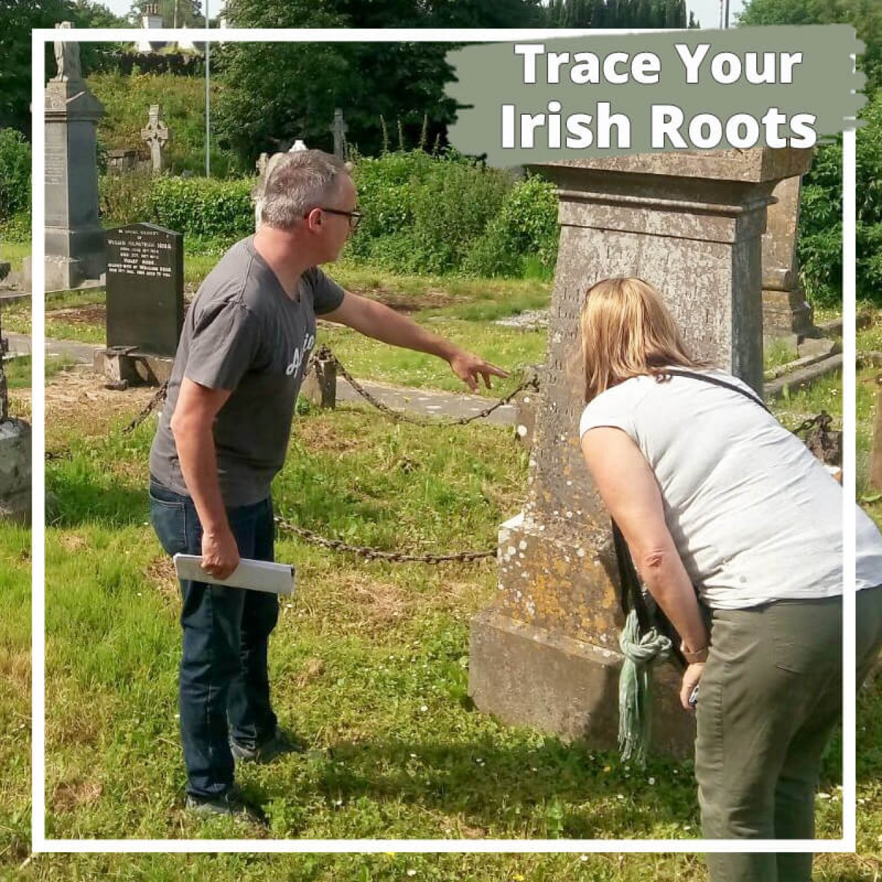 Trace your Irish roots in a graveyard on a private tour of Ireland