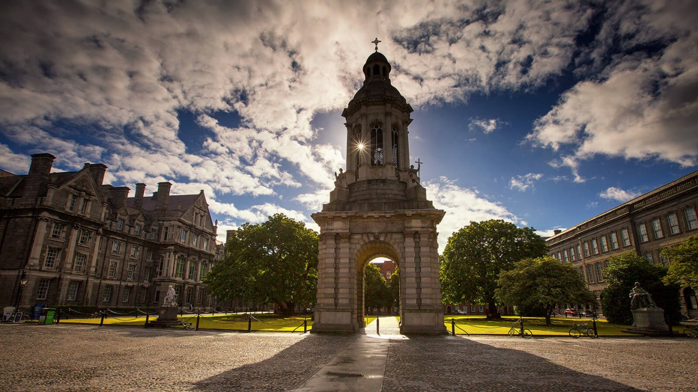 Trinity College Dublin in Ireland