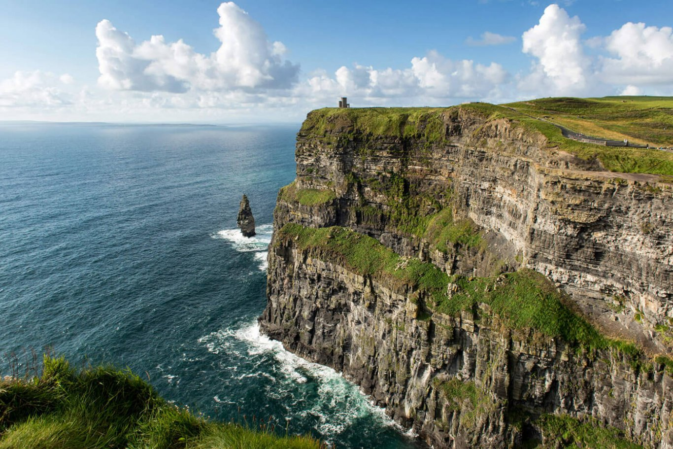 The world famous cliffs of moher
