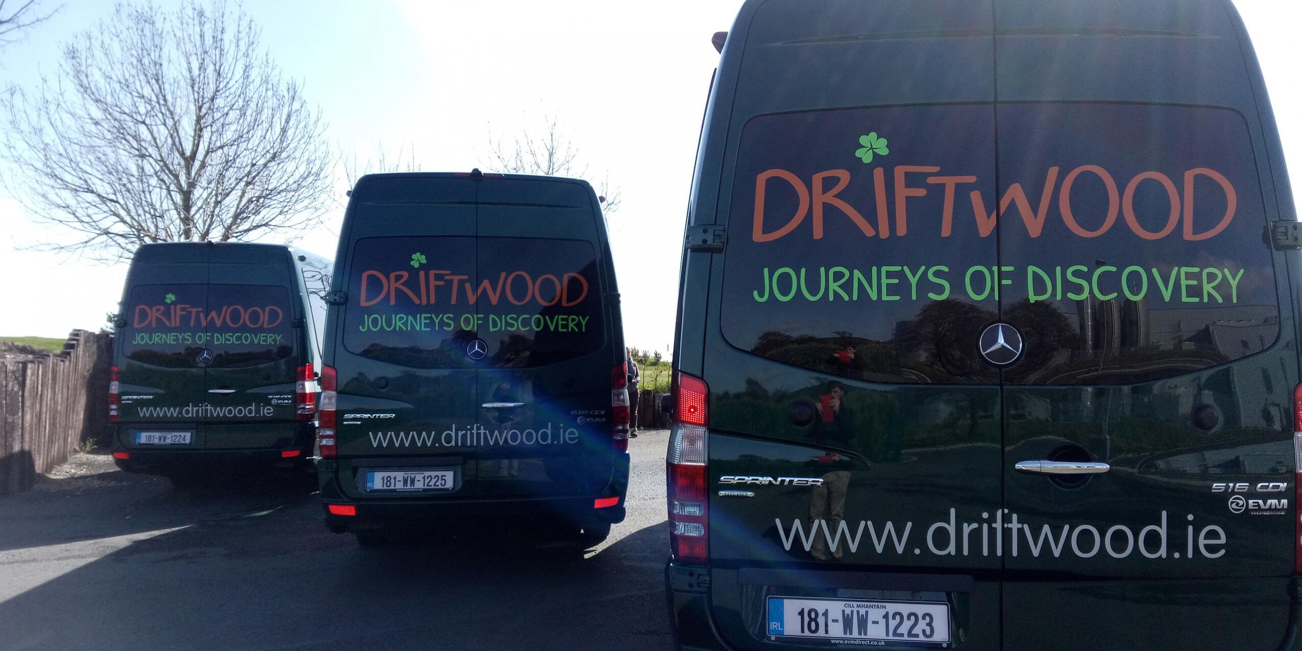 driftwood vehicles ready to go