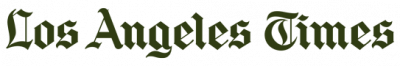 Los Angeles Times logo in dark green