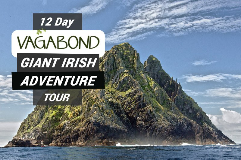 Skellig Michael, where our 12 day tour offers a landing option.