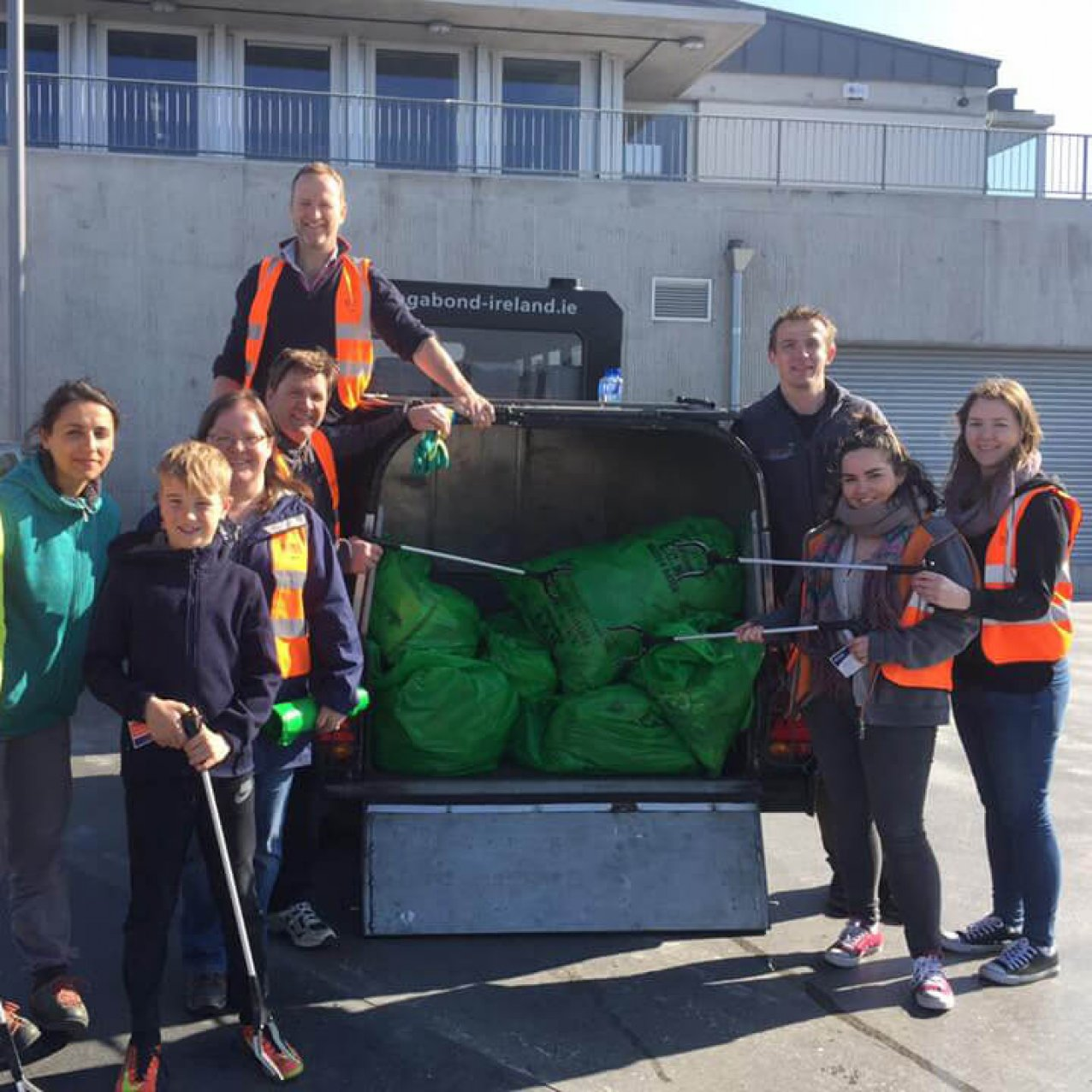 Litter picking locally