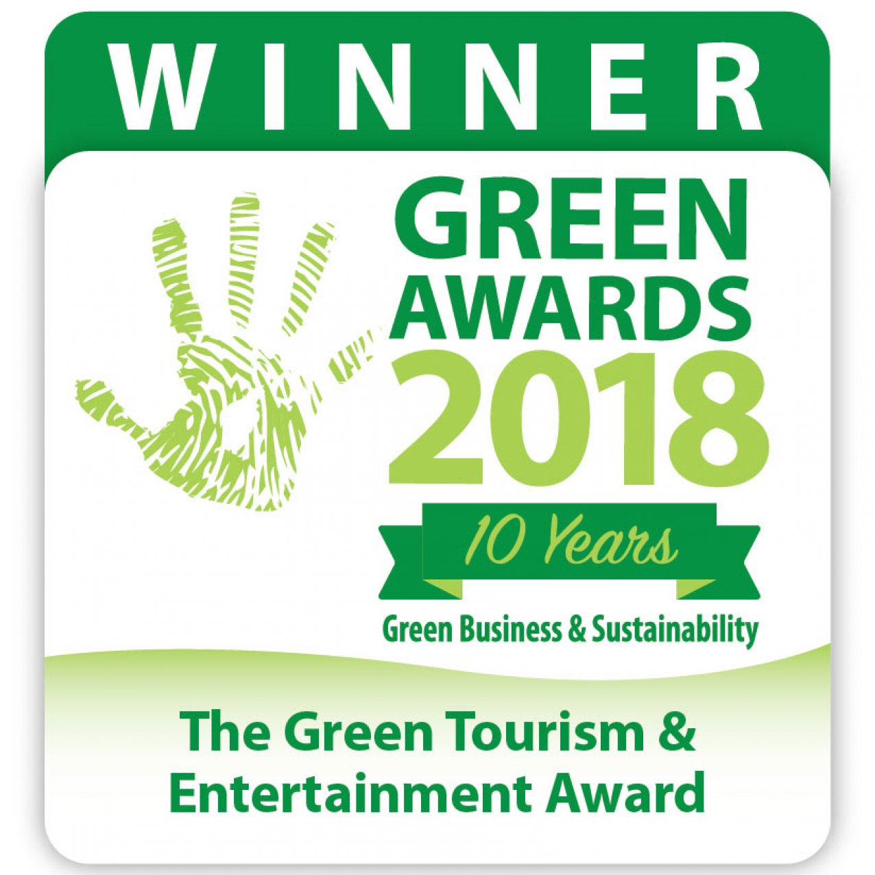 Green Tourism Award 2018