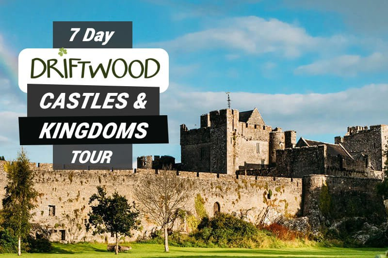 7 Day Driftwood Castles and Kingdoms Tour showing Cahir Castle walls and keep in sunshine