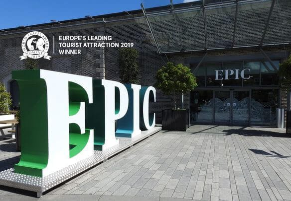 Exterior of EPIC Dublin Emigration Museum