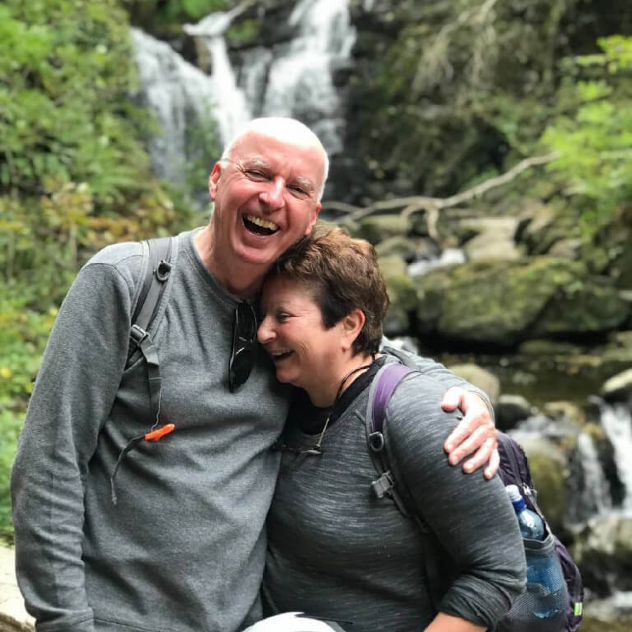 Kevin and Paula at Torc Waterfall
