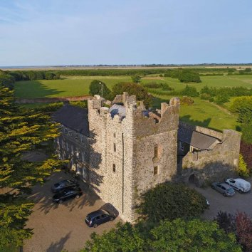 The exterior and grounds of Killiane Castle and Country House