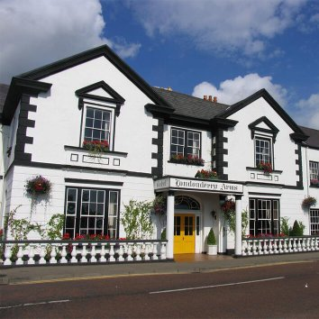 Londonderry Arms Hotel in Carnlough
