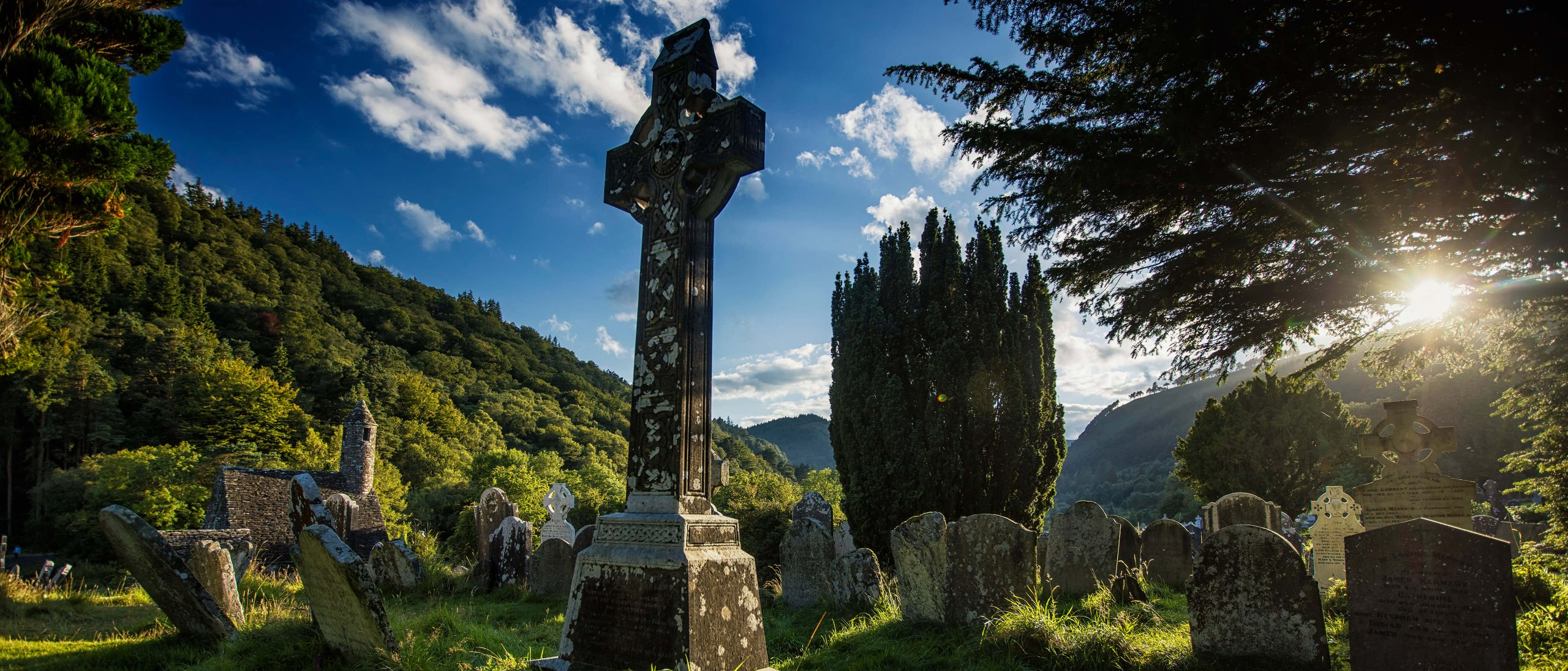 Graveyard in Glendalough, Wicklow