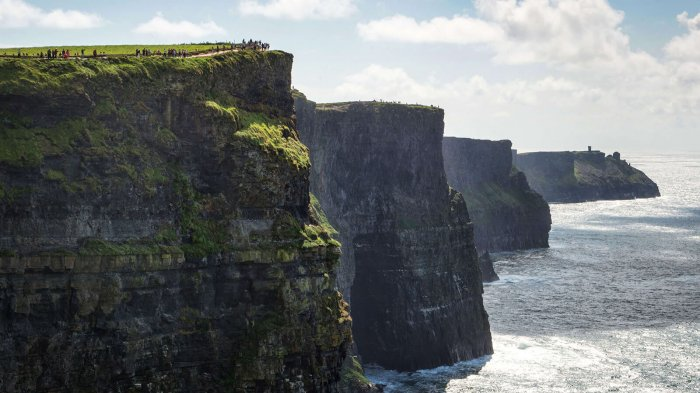 The scenic Cliffs of Moher in Ireland