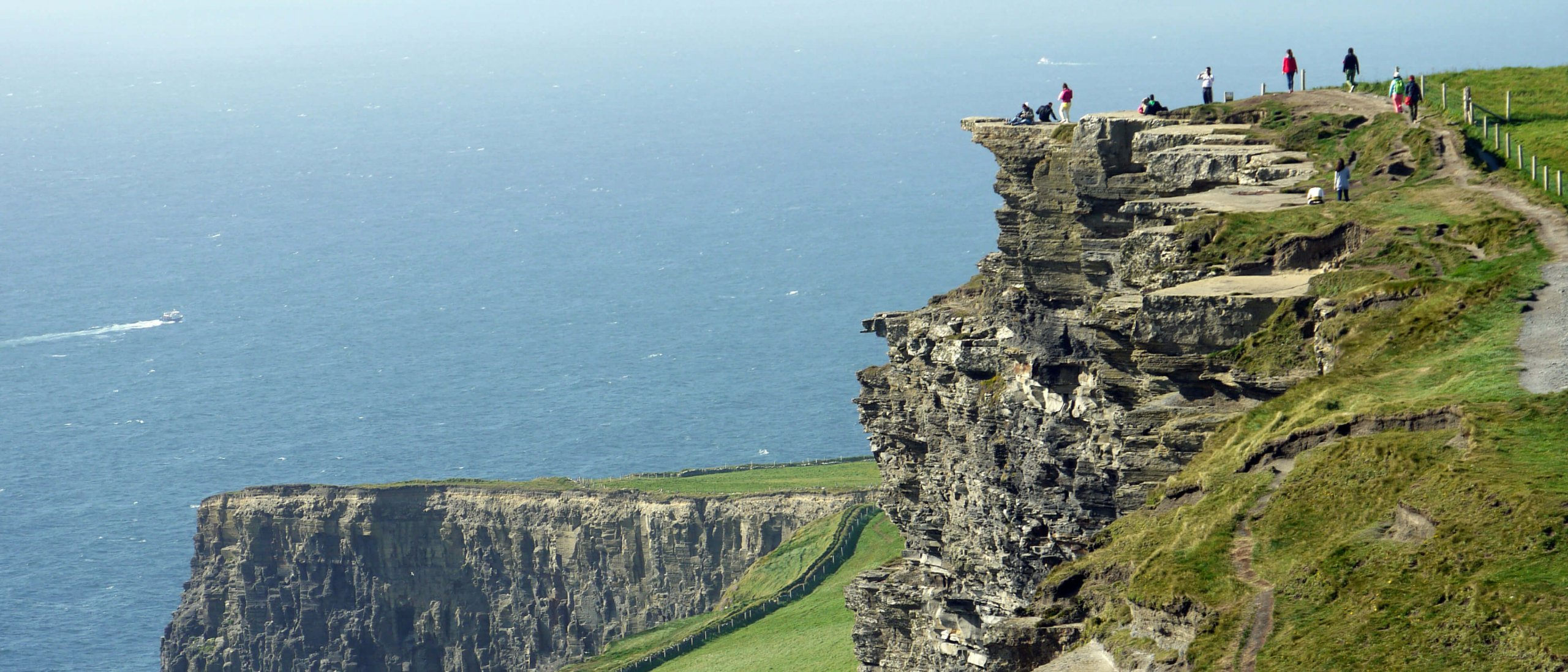 Hiking the Cliffs of Moher in Clare