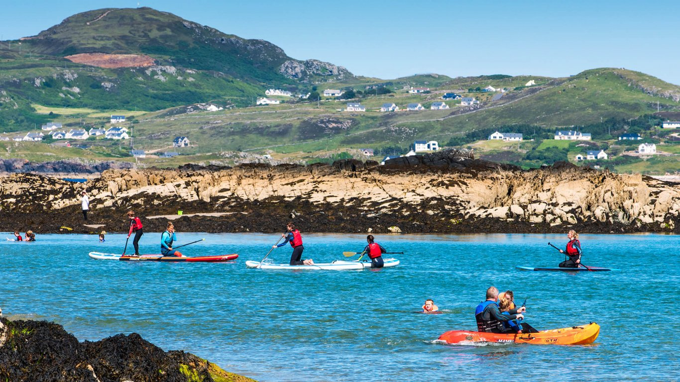 Watersports in Dunfanaghy, Ireland
