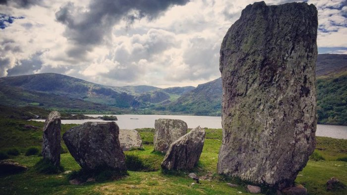 Uragh Stone Circle by Angie Stocklin