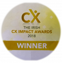 CX Award badge