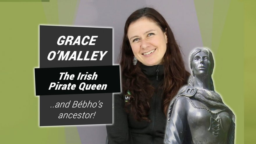 Grace O'Malley - The Irish Pirate Queen ...and Bébho's ancestor!