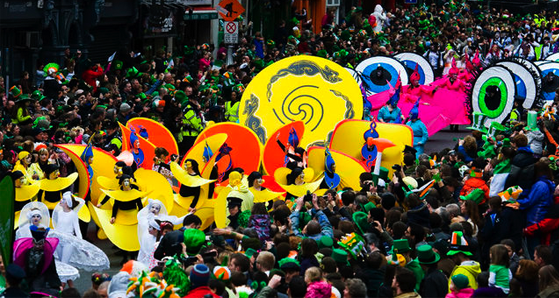 st patricks day festival dublin ireland