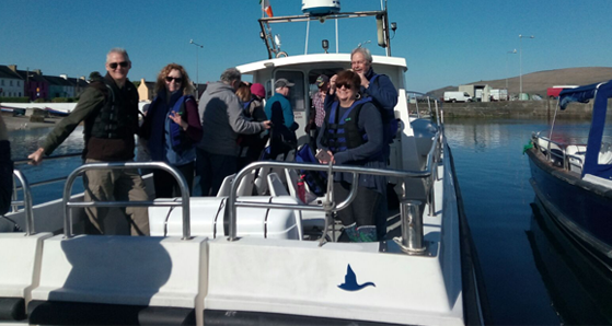 Setting sail for Skellig Michael from Portmagee