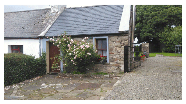 Beautiful rose cottage in Ballycastle