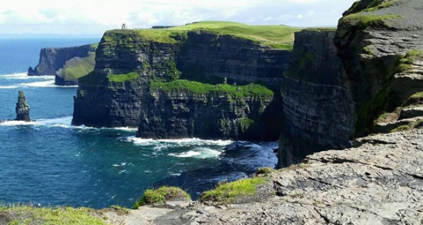 cliffs of moher - Romantic Places in Ireland to Propose