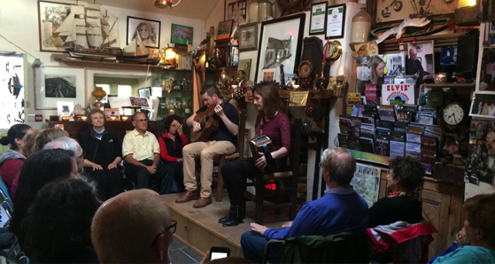 An Siopa Ceoil - The music shop in Dingle.