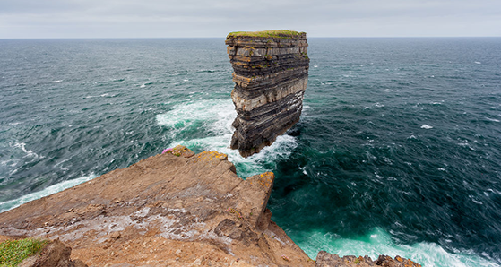 Downpatrick head. 9 jaw dropping sites the wild Atlantic way