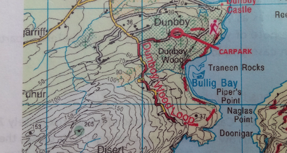 Bullig Bay - Vagabond walk
