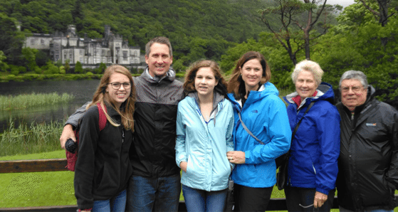 The Smith & Dobson family enjoying the sights and scenery of Connemara | Multi generational travel tips