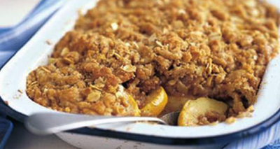 traditional irish apple crumble recipe