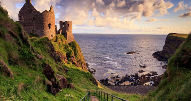 Dunluce-Castle-Irish-Castle-Ruins