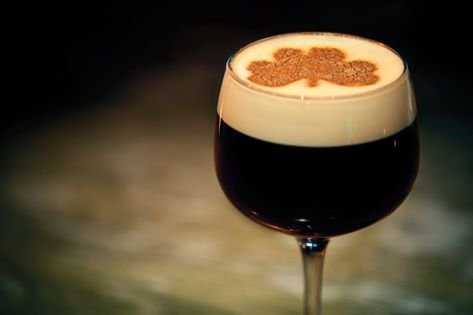 How to Make An Irish Coffee - Simple Irish Coffee Recipe