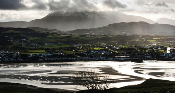 The town of Dunfanaghy