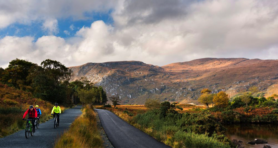 Cycling in Glenveagh National Park