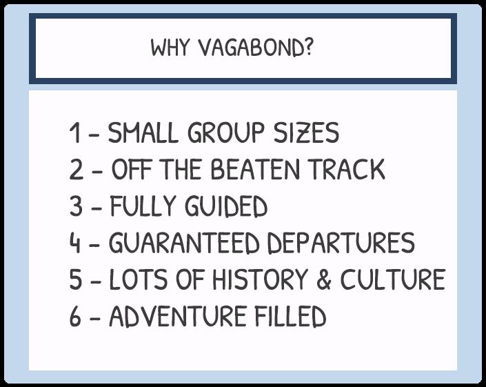why vagabond tours of ireland