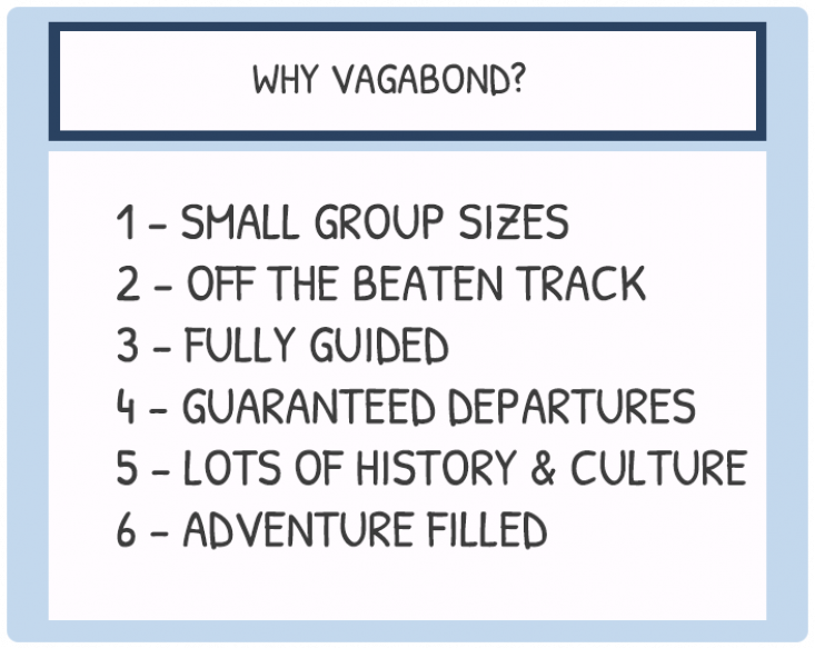 why vagabond tours of ireland