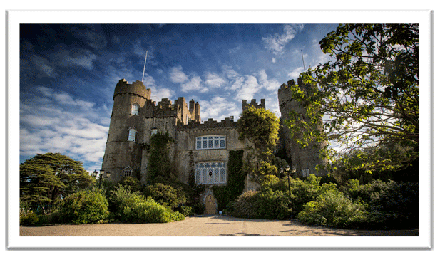 malahide castle - easy day trips from dublin