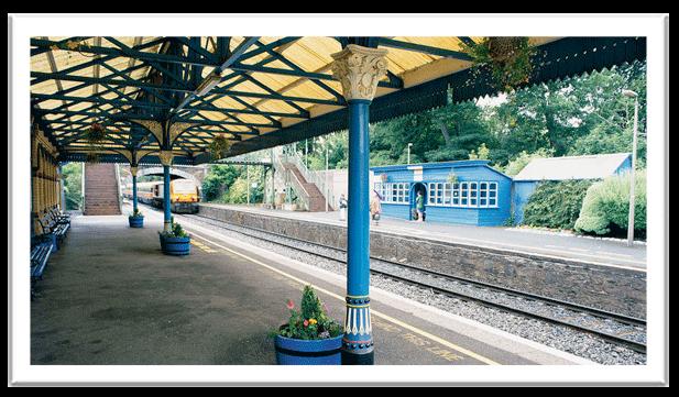 malahide train station - best stops along the dart line dublin