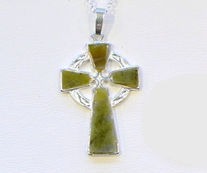 Sterling Silver Large Celtic Cross Pendant