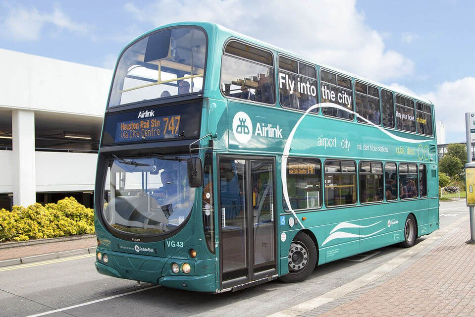 Dublin bus Airlink service to Dublin city centre