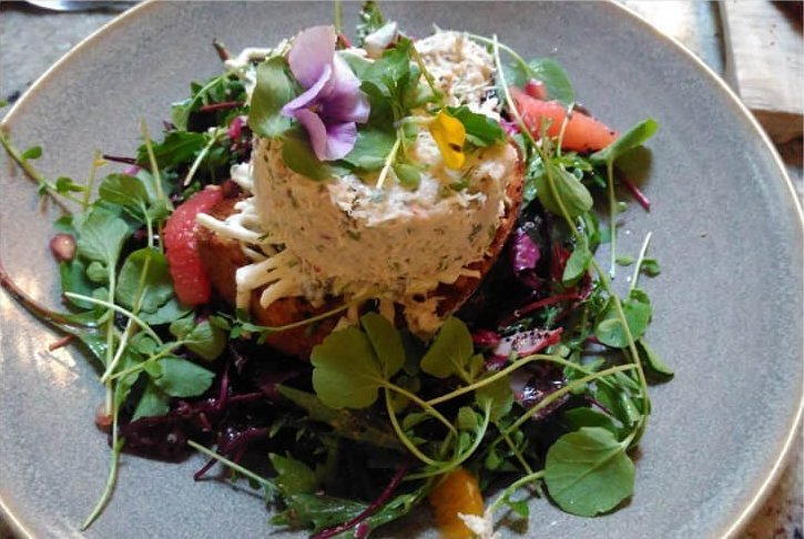 Crab salad from Avoca