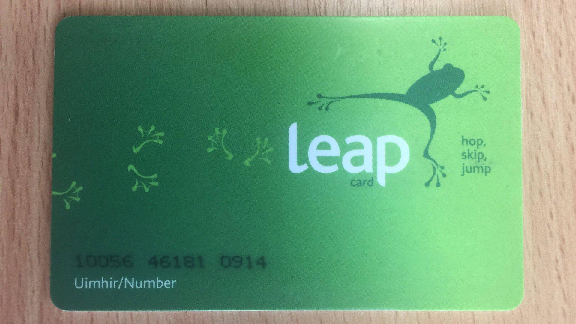 Dublin Leap Card