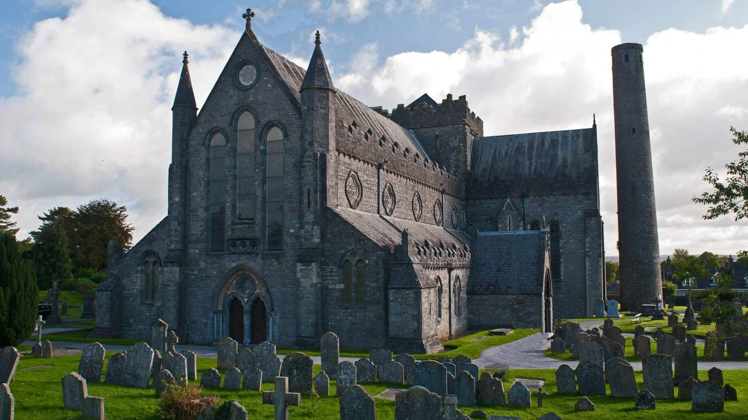 Canice's Cathedral in Kilkenny