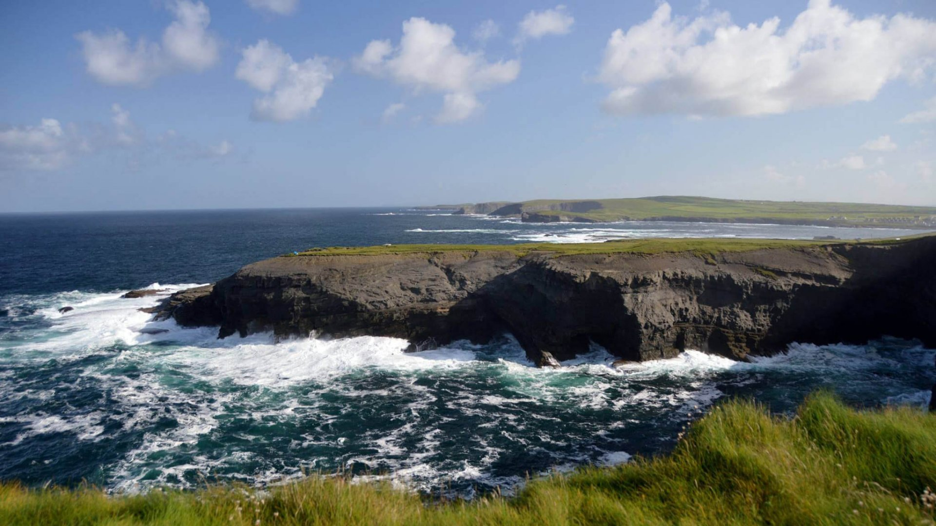Vagabond guest photo of Kilkee cliffs in Clare
